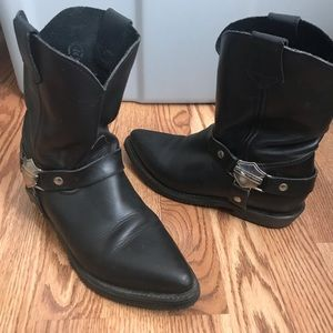 Harley Davidson leather boots women's Size 8